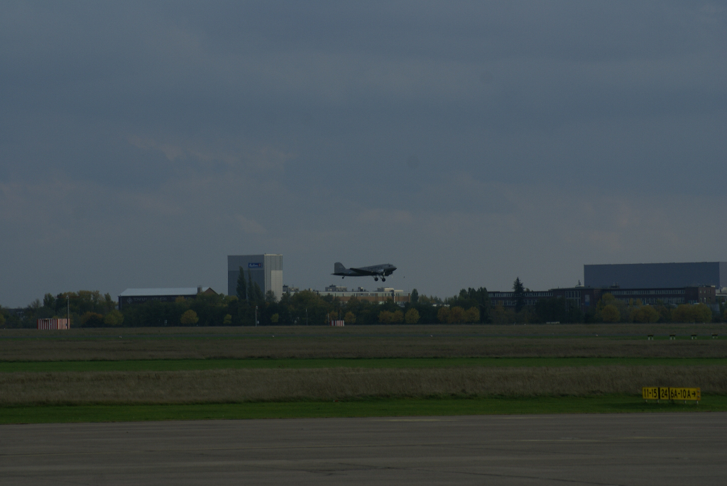 Rosinenbomber in Berlin-Tempelhof