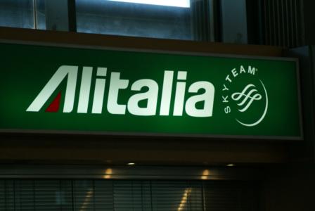 Alitalia - italienische Staatsairline in der Sky-Team Allianz wird Mitglied der AirFrance-KLM-Gruppe