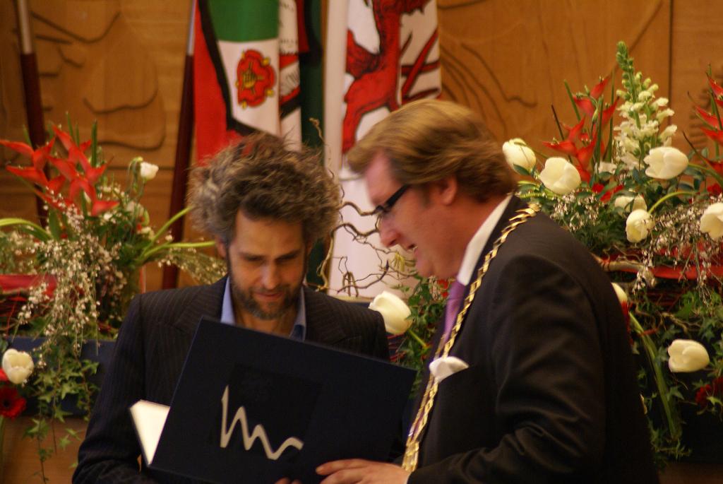 Christoph Schlingensief – Käutnerpreis-Verleihung Düsseldorf 2010