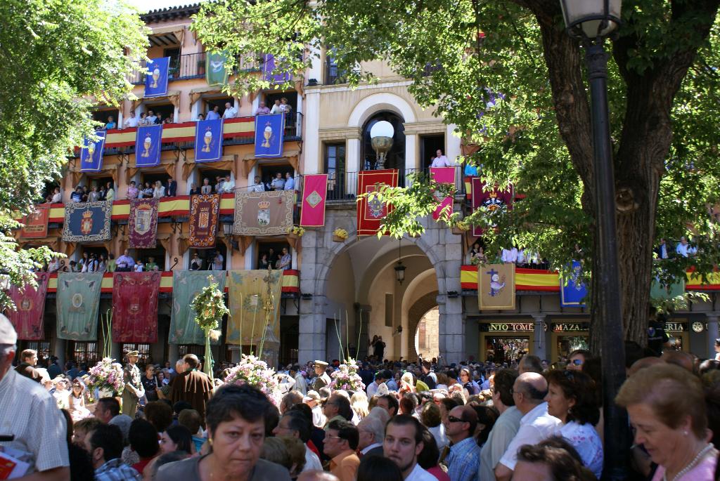Toledo, Spanien - Fronleichnams-Prozession (03737), Foto: ©Carstino Delmonte (2009)