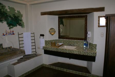 Antigua, Guatemala - Vista Real Hotel, Badezimmer