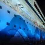 Kreuzfahrtreederei Aida tauft weiteres Schiff: In Papenburg wurde die Aidanova mit DJ David Guetta