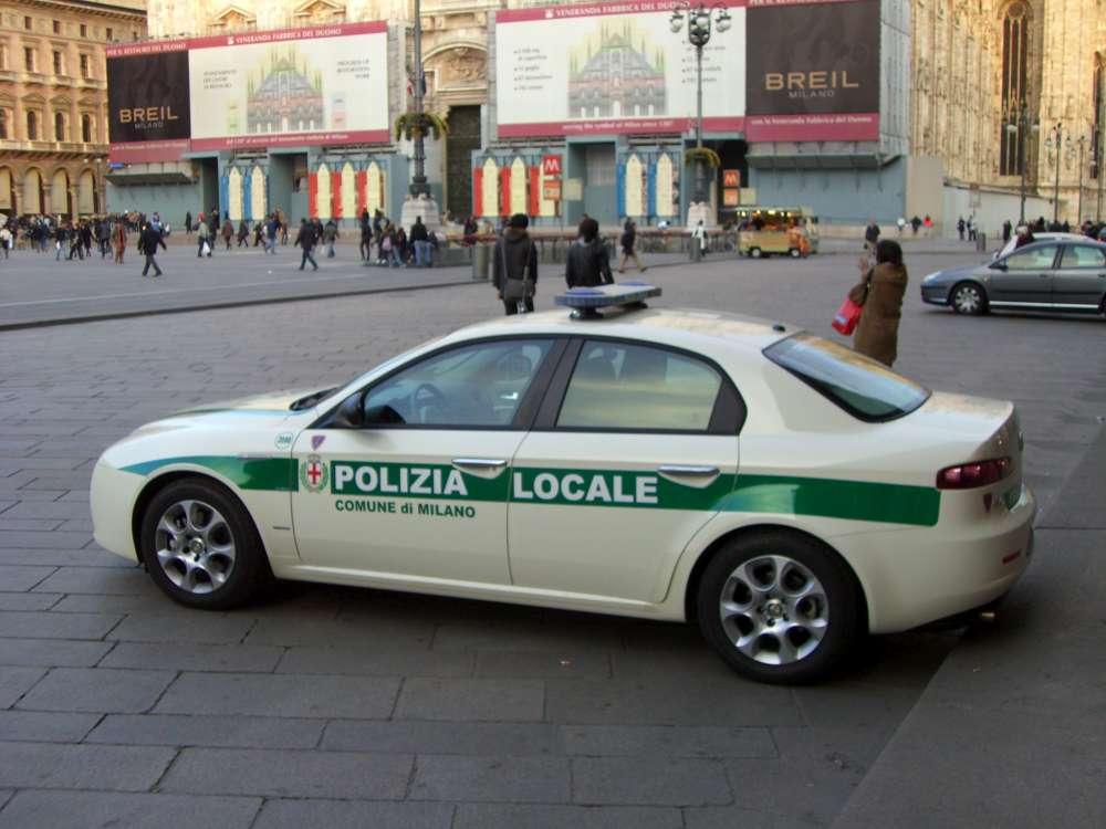 Italien: keine Polizei nach Bagatellunfall