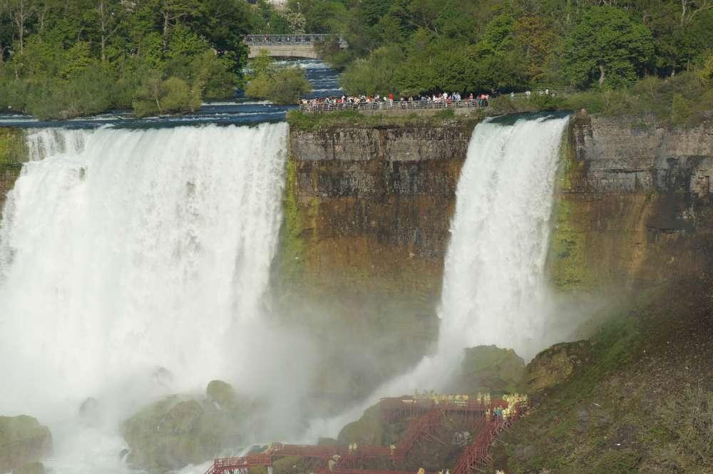 Niagarafälle bald ohne Wasser