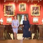Die Herzogin von Cambridge besuchte das Mauritshuis