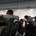 Hohe Kundenzufriedenheit im Luftverkehr Akzeptanz für die Nutzung von Mobilfunkgeräten an Bord von Flugzeugen nimmt zu