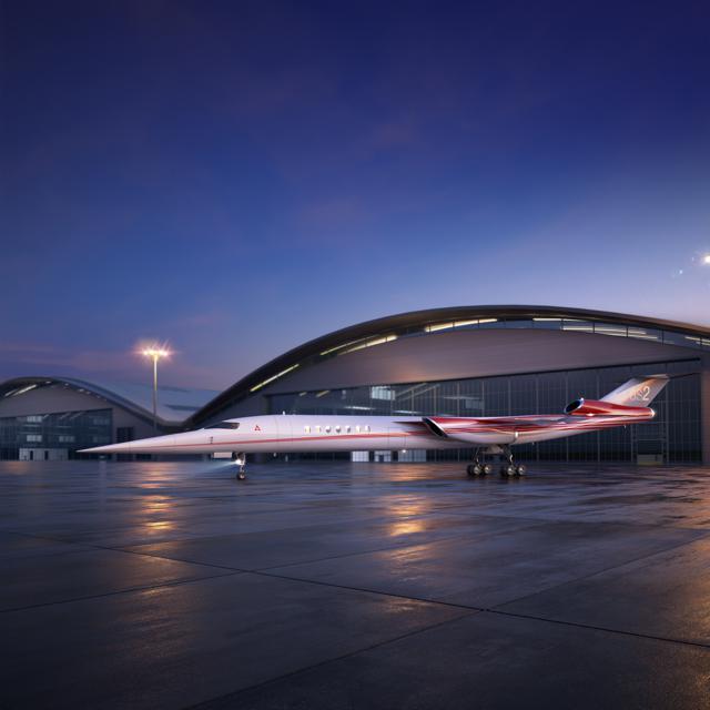 Aerion und Lockheed Martin entwickeln gemeinsam ersten Überschall-Businessjet der Welt