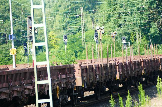 Schienenverkehr 2017: Mit 401 Millionen Tonnen transportierten Gütern neuer Höchstwert