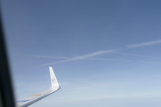 Enger Luftraum: Immer wieder kommen sich Flugzeuge über Deutschland gefährlich nahe