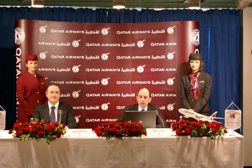 Qatar Airways präsentiert ihr erweitertes Economy-Class-Produkt auf der ITB 2019