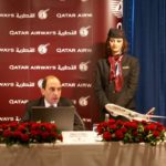 Lobbyarbeit beim Edeldinner: Qatar Airways Group Chief Executive Akbar Al Baker als Gastgeber des ersten Europäischen Parlamentarischen Abends