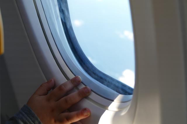 """Flugreisen: Kindersitz mit dem Label """"For use in aircraft"""" nutzen"""