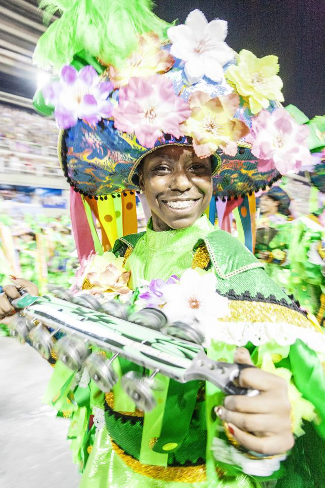 Karneval in der brasilianischen Mega-Metropole São Paulo