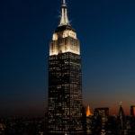 Spitze des Empire State Buildings glitzert von nun an zu jeder vollen Stunde