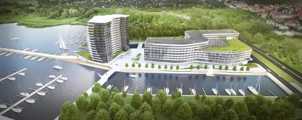 Maritim plant Hotel im polnischen Stettin