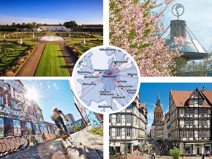 Erstmals über 4 Millionen Übernachtungen in der Region Hannover