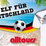 Alltours Vertriebsaktion: Ihre Elf für Deutschland