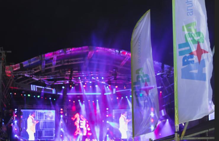 Lateinamerikanische Rhythmen auf dem Aruba Summer Music Festival 2018