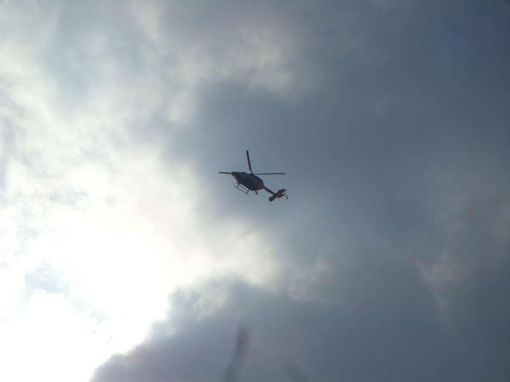 Luftrettung mit bemannten Multikoptern verbessert die Notfallversorgung