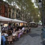 Strassencafés in Palma